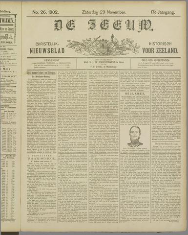 De Zeeuw. Christelijk-historisch nieuwsblad voor Zeeland 1902-11-29