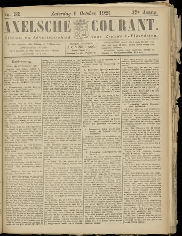 Axelsche Courant 1921-10-01