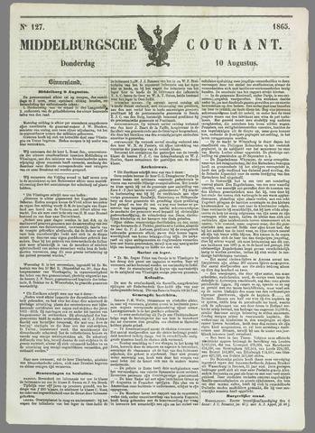 Middelburgsche Courant 1865-08-10