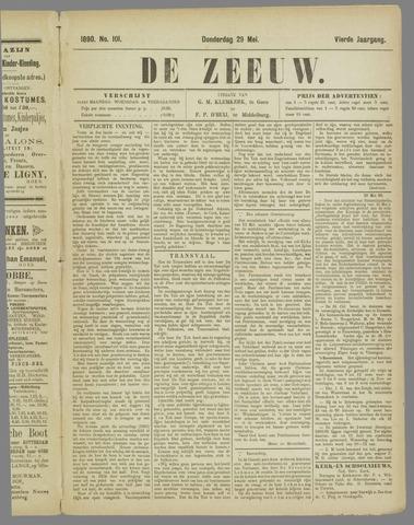 De Zeeuw. Christelijk-historisch nieuwsblad voor Zeeland 1890-05-29