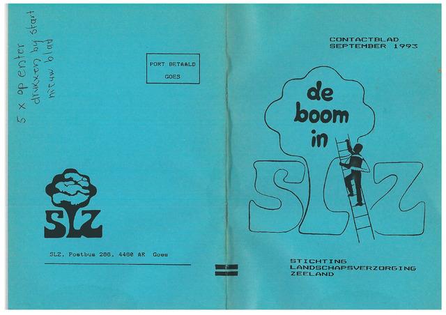 Landschapsbeheer Zeeland - de Boom in 1993-09-01