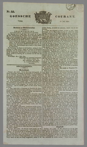 Goessche Courant 1834-07-11