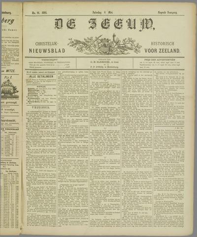 De Zeeuw. Christelijk-historisch nieuwsblad voor Zeeland 1895-05-04