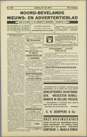 Noord-Bevelands Nieuws- en advertentieblad 1934-06-16