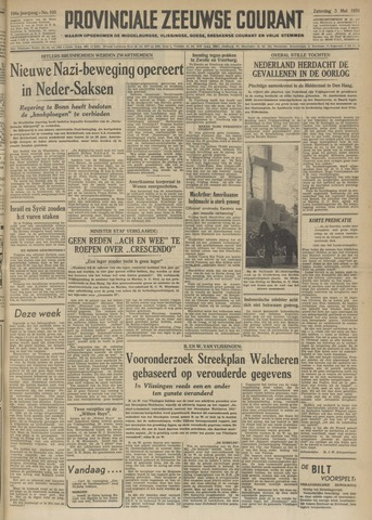Provinciale Zeeuwse Courant 1951-05-05