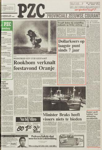 Provinciale Zeeuwse Courant 1987-10-29