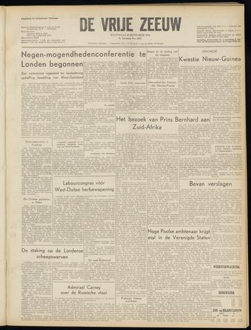 de Vrije Zeeuw 1954-09-29