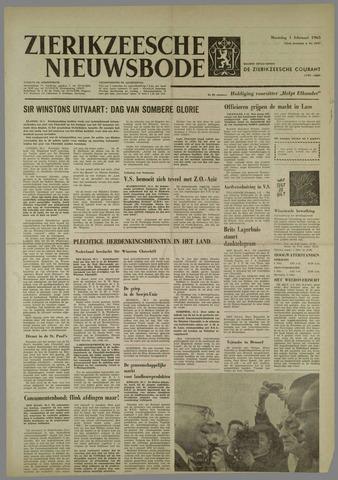 Zierikzeesche Nieuwsbode 1965-02-01