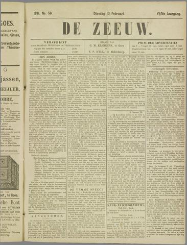 De Zeeuw. Christelijk-historisch nieuwsblad voor Zeeland 1891-02-10