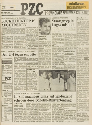 Provinciale Zeeuwse Courant 1976-02-14