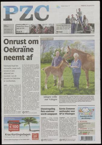 Provinciale Zeeuwse Courant 2014-04-18