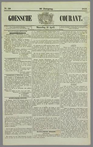Goessche Courant 1859-04-11
