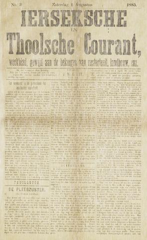 Ierseksche en Thoolsche Courant 1885-08-01