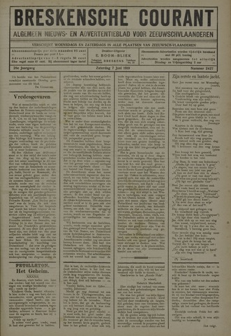 Breskensche Courant 1919-06-07