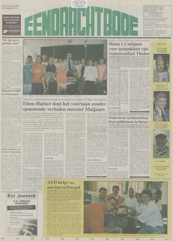 Eendrachtbode (1945-heden)/Mededeelingenblad voor het eiland Tholen (1944/45) 2004-07-08