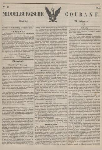 Middelburgsche Courant 1869-02-23