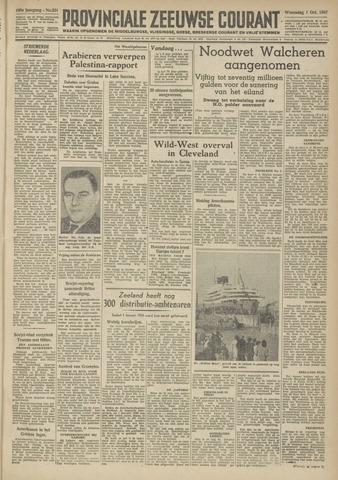 Provinciale Zeeuwse Courant 1947-10-01