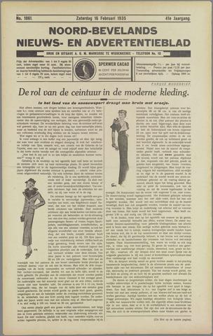 Noord-Bevelands Nieuws- en advertentieblad 1935-02-16