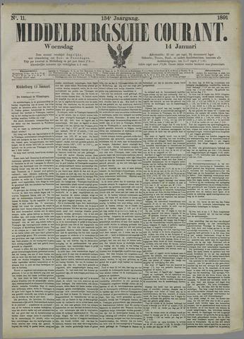 Middelburgsche Courant 1891-01-14