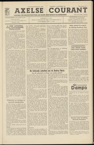 Axelsche Courant 1967-11-11