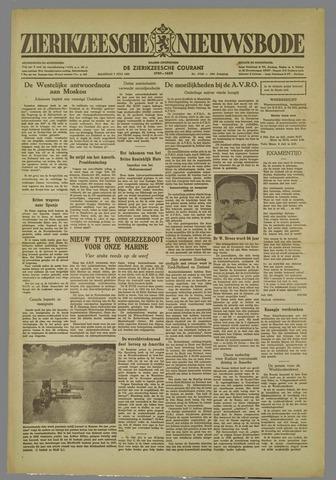 Zierikzeesche Nieuwsbode 1952-07-07