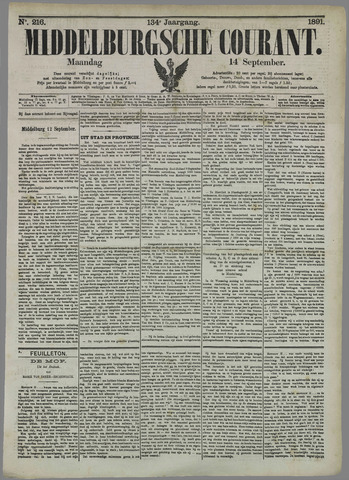 Middelburgsche Courant 1891-09-14