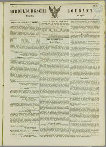 Middelburgsche Courant 1847-04-13