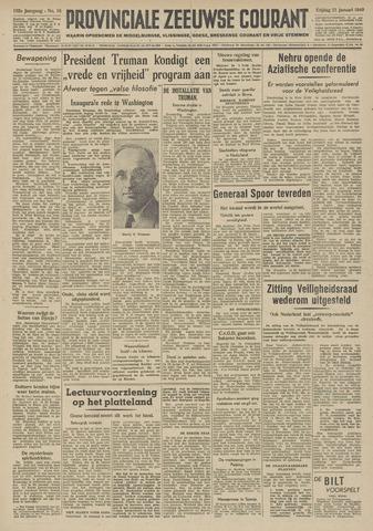 Provinciale Zeeuwse Courant 1949-01-21