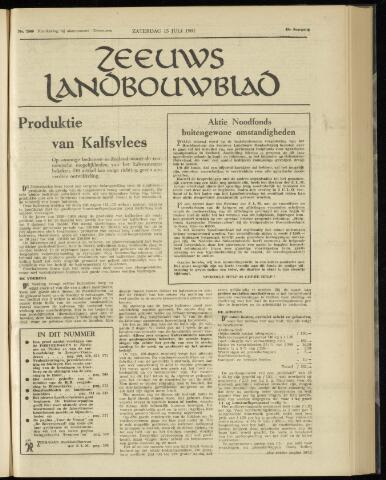Zeeuwsch landbouwblad ... ZLM land- en tuinbouwblad 1961-07-15