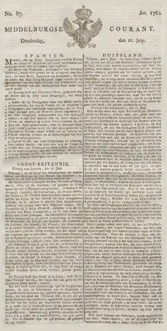 Middelburgsche Courant 1762-07-22