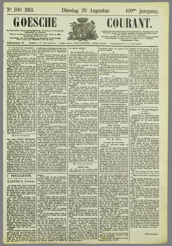 Goessche Courant 1913-08-26