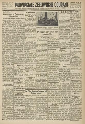 Provinciale Zeeuwse Courant 1946-06-20