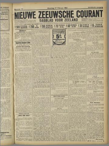 Nieuwe Zeeuwsche Courant 1922-02-27