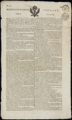 Middelburgsche Courant 1814-05-24
