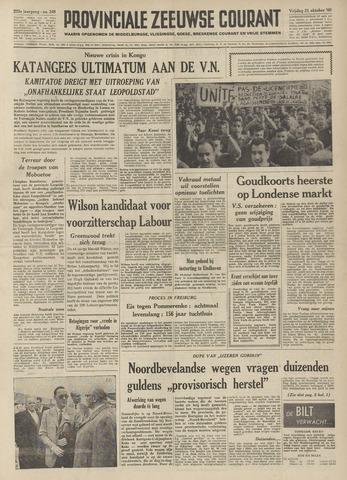 Provinciale Zeeuwse Courant 1960-10-21