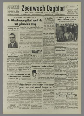 Zeeuwsch Dagblad 1957-01-03