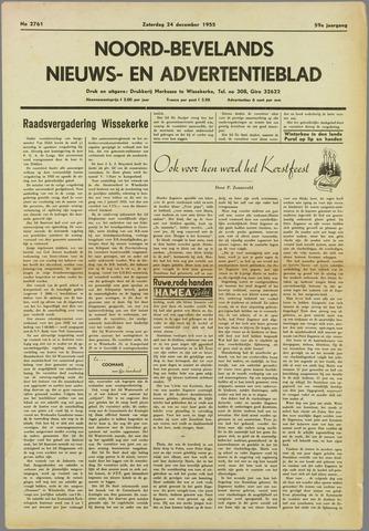Noord-Bevelands Nieuws- en advertentieblad 1955-12-24