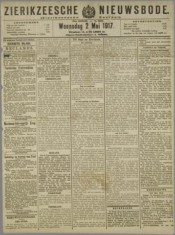 Zierikzeesche Nieuwsbode 1917-05-02