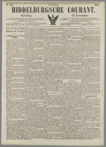 Middelburgsche Courant 1897-11-27