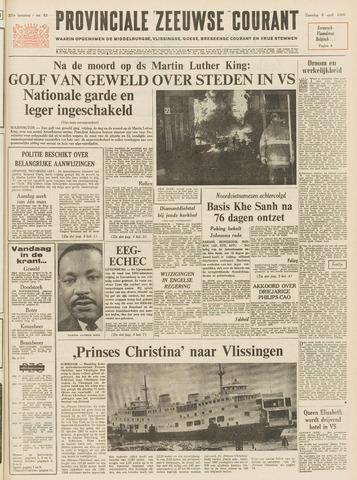 Provinciale Zeeuwse Courant 1968-04-06