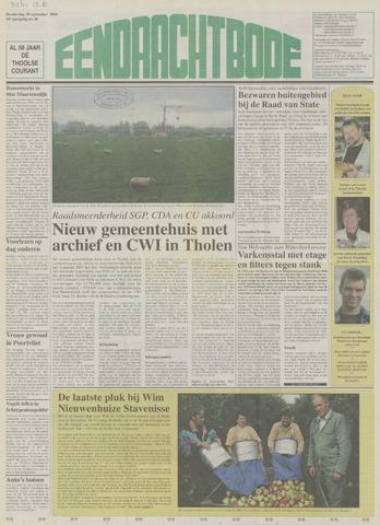 Eendrachtbode (1945-heden)/Mededeelingenblad voor het eiland Tholen (1944/45) 2004-09-30