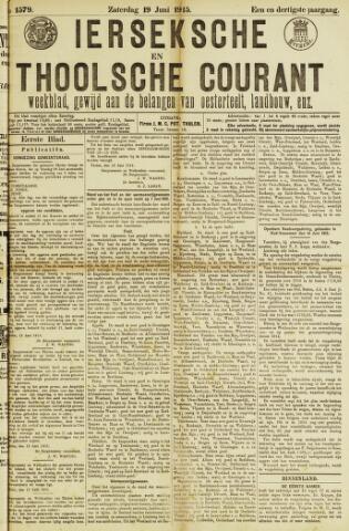 Ierseksche en Thoolsche Courant 1915-06-19