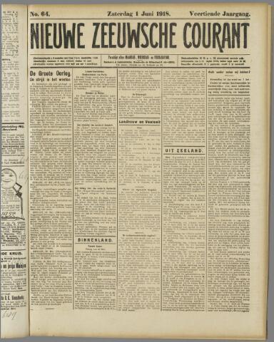 Nieuwe Zeeuwsche Courant 1918-06-01