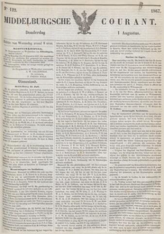 Middelburgsche Courant 1867-08-01