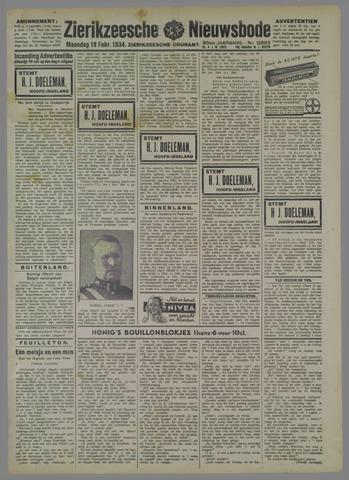 Zierikzeesche Nieuwsbode 1934-02-19