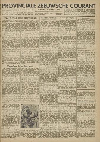 Provinciale Zeeuwse Courant 1944-01-08