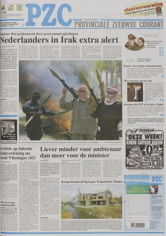 Provinciale Zeeuwse Courant 2004-04-14