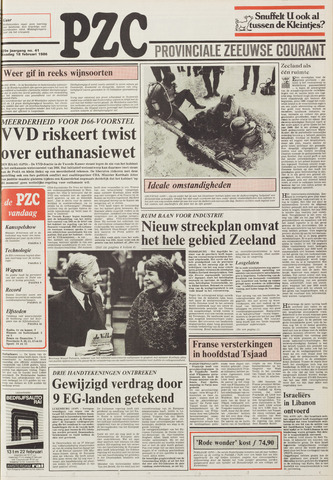 Provinciale Zeeuwse Courant 1986-02-18