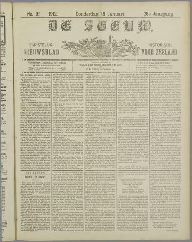 De Zeeuw. Christelijk-historisch nieuwsblad voor Zeeland 1912-01-18