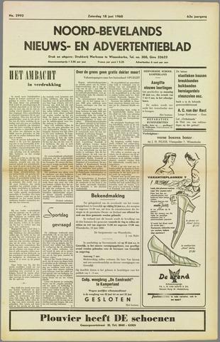 Noord-Bevelands Nieuws- en advertentieblad 1960-06-18